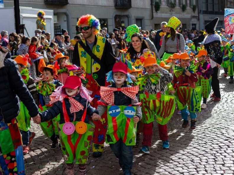 Image 1 - Im Reich von König Rabadan Karneval in Bellinzona