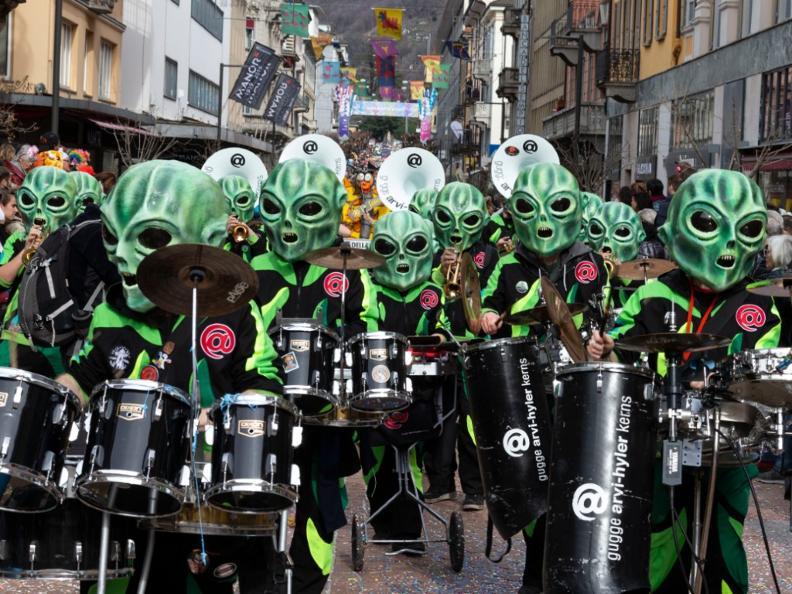 Image 4 - Im Reich von König Rabadan Karneval in Bellinzona