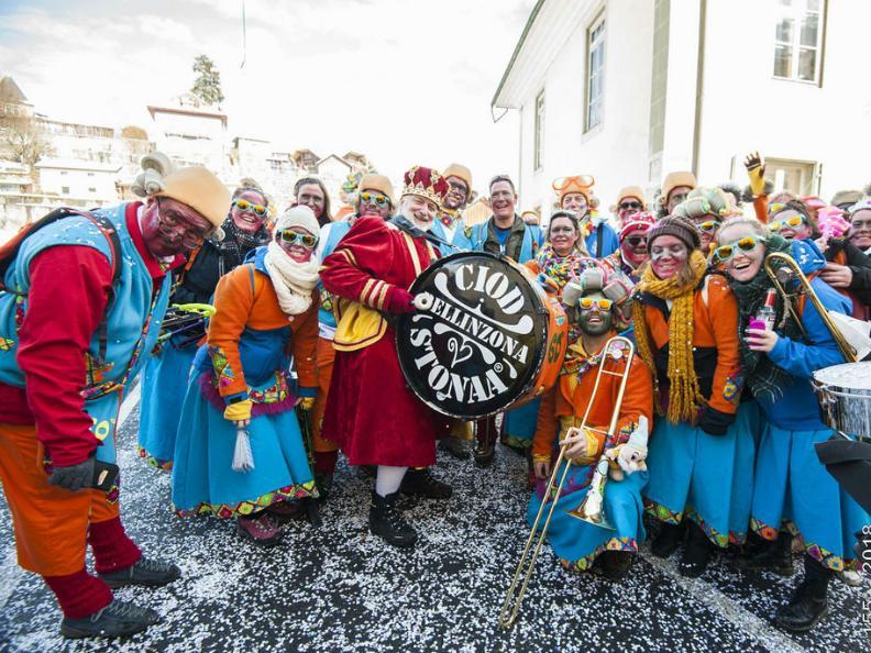 Image 8 - Im Reich von König Rabadan Karneval in Bellinzona