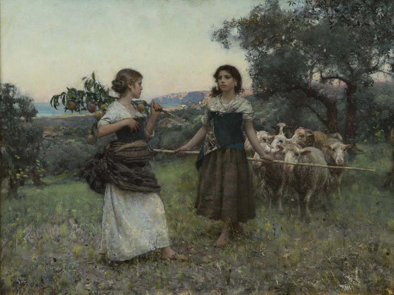 Image 1 - Arte e arti. Pittura, incisione e fotografia nell'Ottocento
