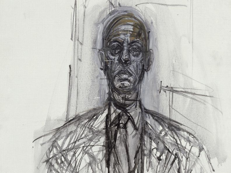 Image 2 - Alberto Giacometti (1901-1966), Graphics on the border between art and thought