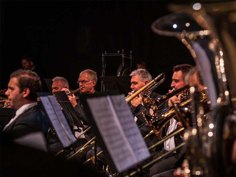 Image 0 - Motown metal - Gli ottoni e le percussioni dell'ofsi in concerto
