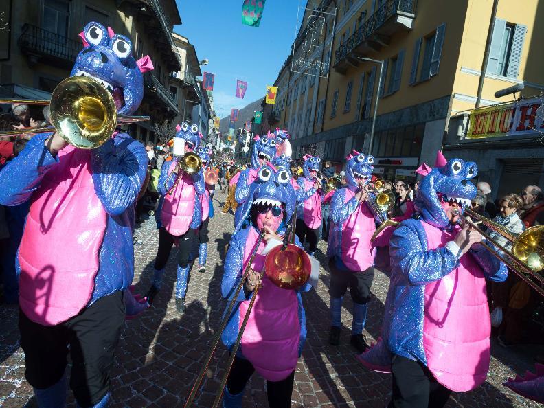 Image 9 - Im Reich von König Rabadan Karneval in Bellinzona