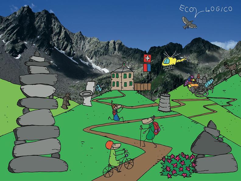 Image 2 - MontagnePulite - Gestione sostenibile delle capanne alpine e dei rifugi ticinesi