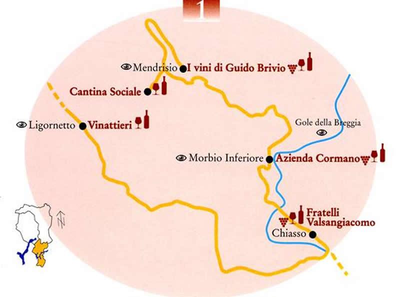 Image 0 - La strada del vino del Mendrisiotto