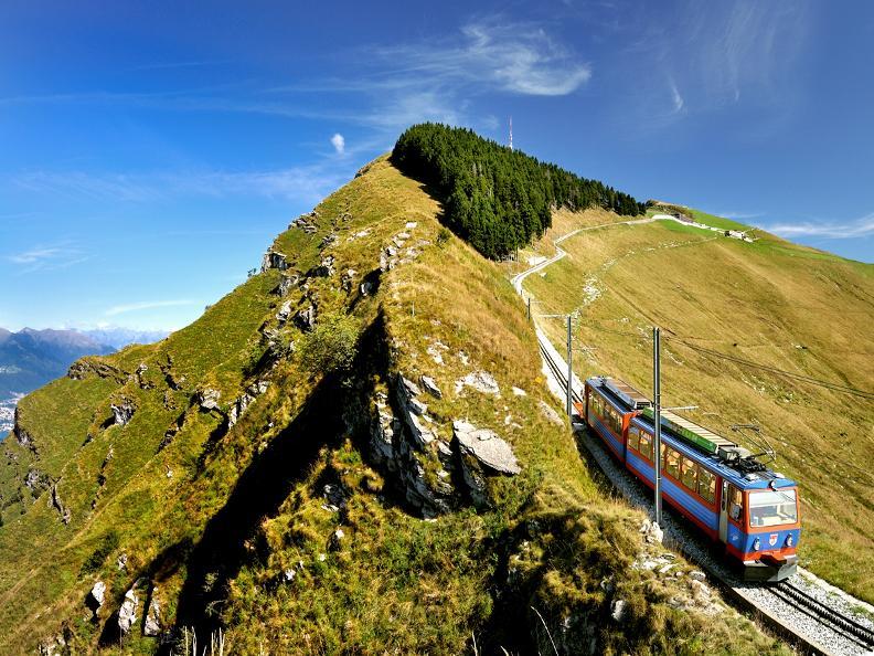 Image 1 - Discover the Cog railway Monte Generoso with Morsetta